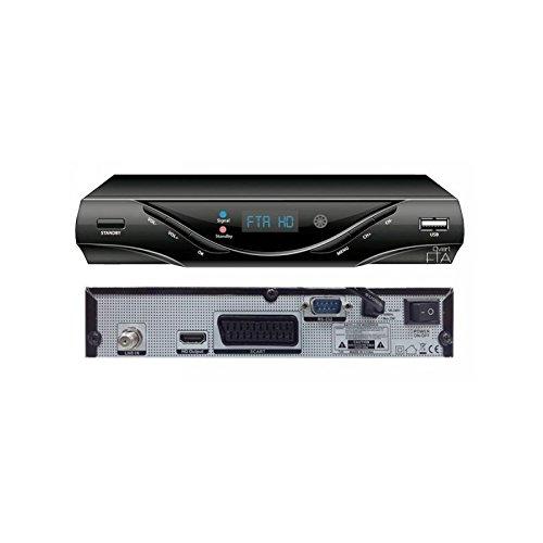 QviART QVI01006 - Receptor (HDMI, USB) Color Negro