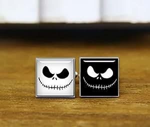 Skull Face gemelli, Skull regali, film ventole, anime Skull gemelli, matrimonio, rotondi gemelli quadrati