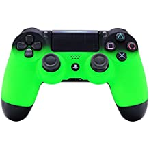eXtremeRate® Shadow Green Soft Touch Grip Carcasa Frontal de Carcasa Frontal para Playstation 4 PS4 Slim PS4 Pro Controlador JDM-040