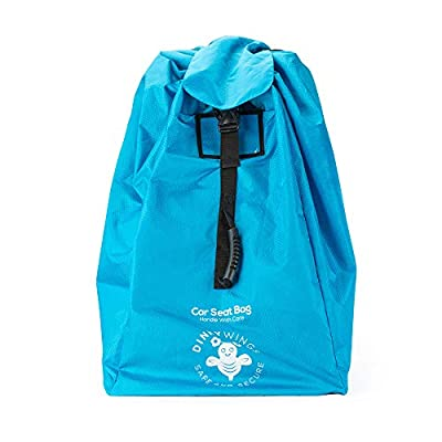 Car Seat Bag XL - Easy Travel Solution. Protect Your Child's Car Seat - Shield from Dust and Dirt - Ultra Tough Material, Extra Secure. Twin Strap Padded Backpack.