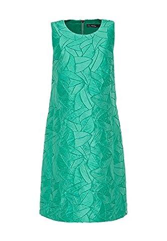 HALLHUBER A-Linien-Kleid aus Struktur-Jacquard A-Linie seegrün, 42