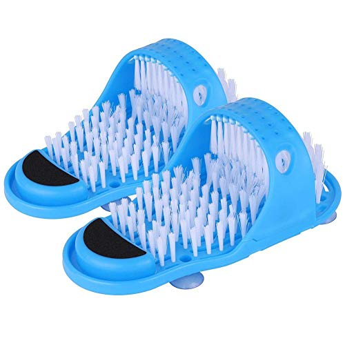 Badeschuhe mit Fußreinigungsbürste für die Massage zur Entfernung von Dusch-Spa-Peelings -