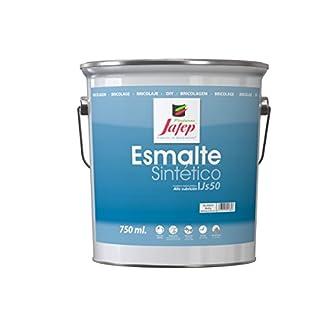 Jafep 35300133 Esmalte sintético, Blanco, 4 l
