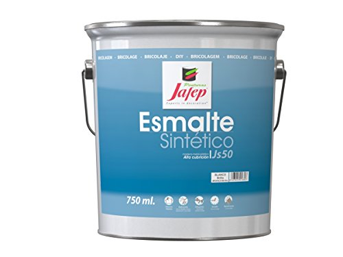 Jafep JS 50 - Esmalte sintético (4 L) color blanco
