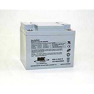 MK Powered - Akku Blei AGM M50-12 SLDM 12V 50Ah