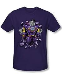 Superman - - T-shirt Bizzaro La percée de Men In Purple