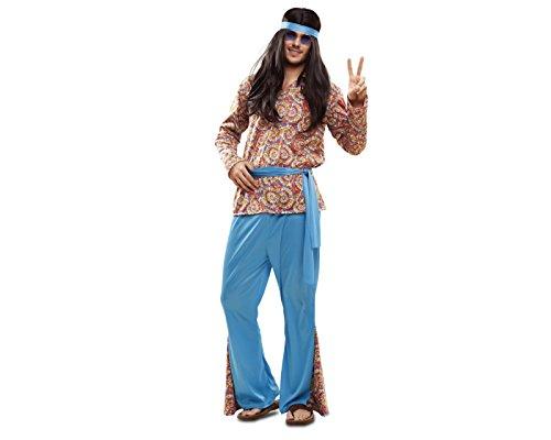 My Other Me - Disfraz de hippie psicodélico para hombre, M-L (Viving Costumes 201990)