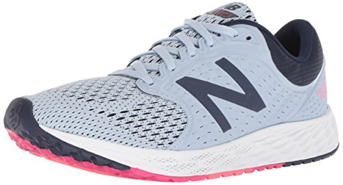 New Balance Damen Fresh Foam Zante v4 Neutral Laufschuhe, Blau (Ice Blue/Pigment Ib4), 40 EU