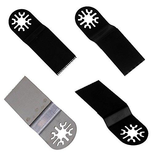 cnbtr schwarz & silber Mix Accessory Multifunktionswerkzeugen Universal oszillierendes Sägeblatt Multifunktions Werkzeug Set von 20