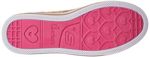 Skechers Shuffles-Sweetheart Sole, Scarpe da Ginnastica Bambina Oro