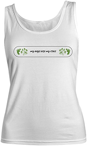 My Dogs Are My Kids Femme Tank Top Debardeur Blanc