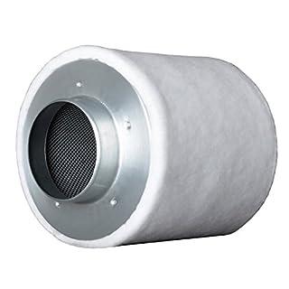 Prima Klima ECO Line AKF Aktivkohle-filter Luft-filter Geruchsfilter Abluft-Filter Grow Filter für Rohrventilatoren vers. Größen (160-m³ - 240-m³ 100-mm Flansch)