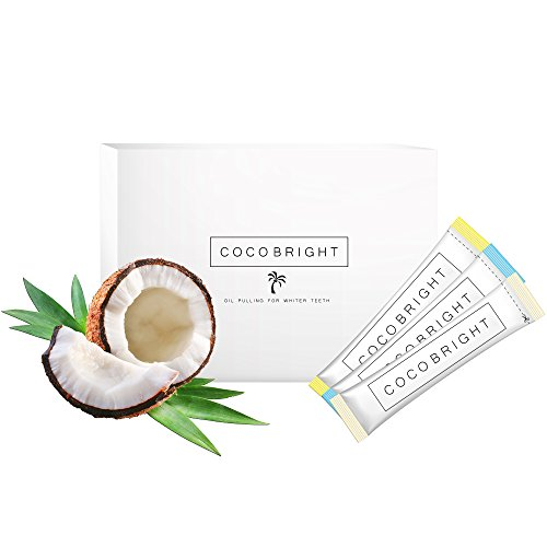 Bleaching für weisse Zähne mit COCOBRIGHT | Oil Pulling Kokosöl 14 Tage Detox Kurs | Gesunde...