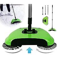 Sanlloo Turbo Smart Sweeper - Escoba giratoria de Triple Cepillo con Movimiento Giratorio a 360°
