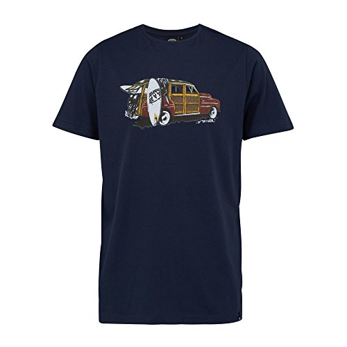 Herren T-Shirt Animal Woody T-Shirt Total Eclipse Navy