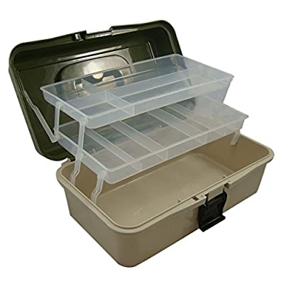 2 Tray Cantilever Fishing Tackle Box, Lunar Box ® from Lunar Box