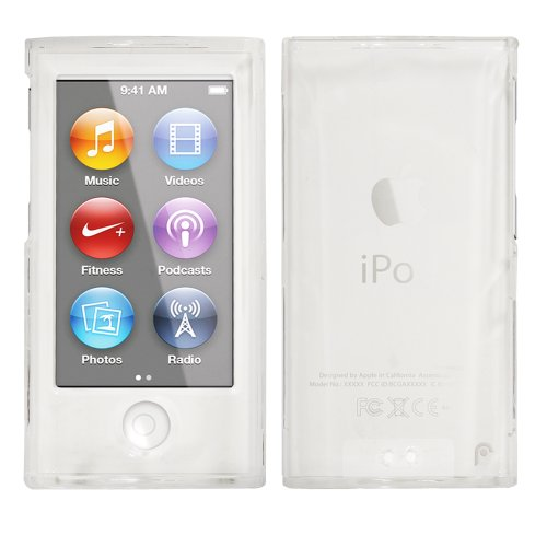 fosmon-slim-series-snap-on-crystal-case-for-apple-ipod-nano-7th-generation-clear-2-pieces