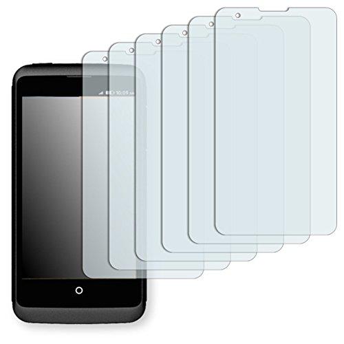 6 x Golebo Displayschutzfolie für ZTE Open C Schutzfolie Folie
