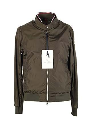 MONCLER CL Green Miroir Zip Front Jacket Coat Size 5 / XL / 54 / 44R U.S.