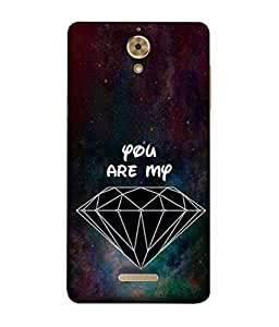 PrintVisa Designer Back Case Cover for Coolpad Mega 2.5D (Colors Art Illustration Greeting Card Abstract Modern)