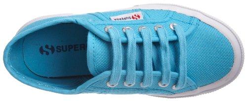 Superga 2750-Jcot Classic Scarpe da Ginnastica, Unisex Bambini Blu (Turquoise-C56)