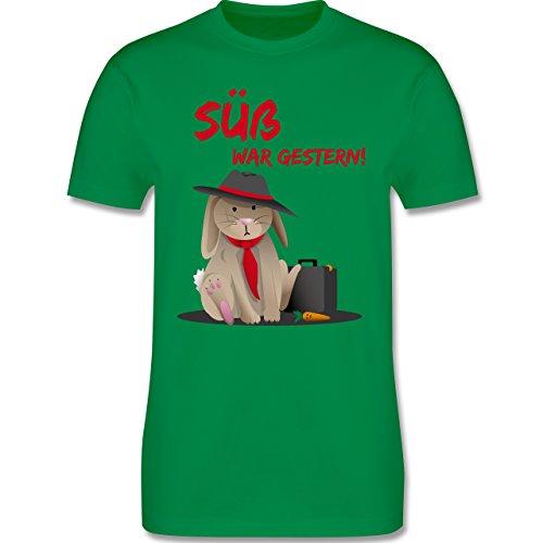 Statement Shirts - Mafia Häschen - Herren Premium T-Shirt Grün