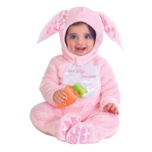 Kleiner rosa Hase - Hase Ostern Kostüm Babys Mädchen Amscan