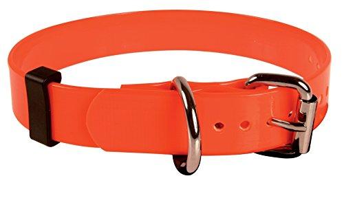 ZOLUX neón Collar PVC Perro Naranja 45cm