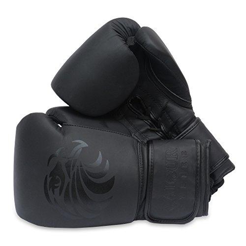 Valour Strike Pro - Guantes Boxeo Piel Artes Marciales