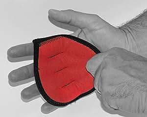 Gants de musculation de qualité supérieure en Néoprène et microfibre renforcé, maniques pour les WOD de crossfit. Grips de protection pour le fitness