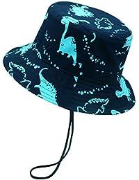 Happy Cherry Chapeau de Soleil Anti-UV Bonnet Mixte en Coton Bébé Enfant  Garçon Bob eaf075024c2