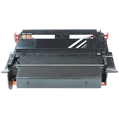 Reconstruido para Lexmark T 610 N Toner negro - 12A5845 / 12A5745 - Para aprox. 25000 paginas (5% cobertura)