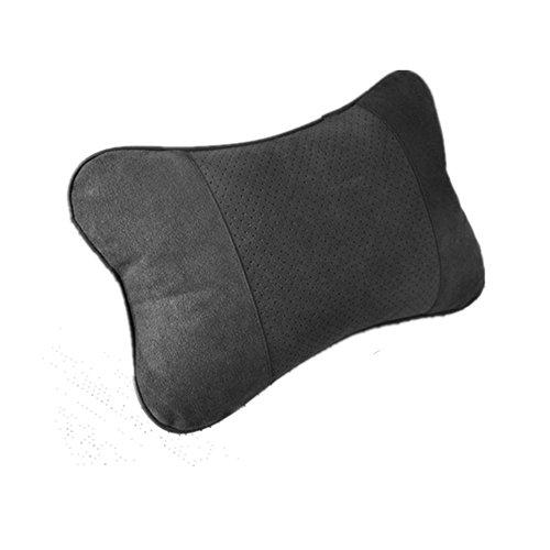 Auto Kopfstütze Kissen Memory Foam Car Nackenkissen - Nackenstütze Kopfstützenkissen - Lendenwirbelstütze für das Zwei-in-Eins-Rücksitzkissen Memory Foam Nackenkissen Entwickelt für den allgemeinen Ge Ge Fiber