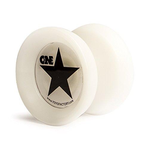 Preisvergleich Produktbild YoyoFactory Onestar Yo-Yo - Weiß
