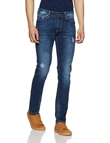 United Colors of Benetton Men's Slim Fit Jeans (18P4L23R8137I_Blue_28)