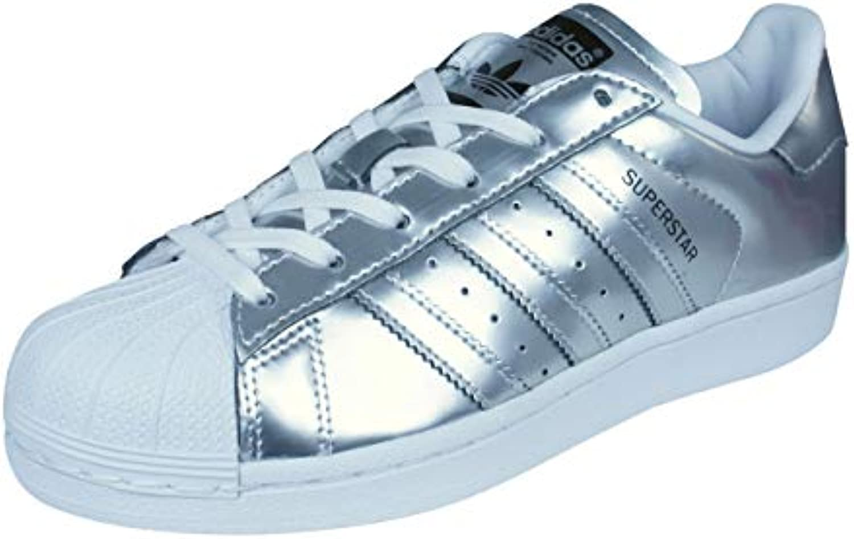 Adidas Superstar CG3681 Scarpe da Ginnastica da da da Donna, Donna, CG3681, argento bianca, Dimensione UK 3.5   Bel design    Scolaro/Signora Scarpa  2d2542