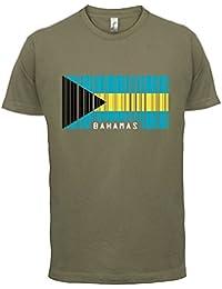 The Bahamas / Bahamas Barcode Flagge - Herren T-Shirt - 13 Farben