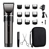 WONER Hair Clippers Set for Men Cordless with Storage Case, Beard Trimmer Men,