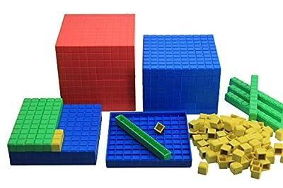 WISSNER® aktiv lernen - Kit de calcul, décimal, 121 pièces - RE-Plastic°