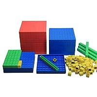 WISSNER-aktiv-lernen-Dienes-Dezimal-Rechensatz-121-Teile-RE-Plastic WISSNER® aktiv lernen – Dienes Dezimal Rechensatz 121 Teile – RE-Plastic° -