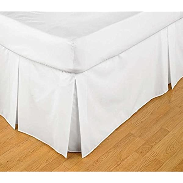 "Base Valance Sheet Platform Bed Sheet Size 40cm 16/"" Single 4FT Double SuperKing"