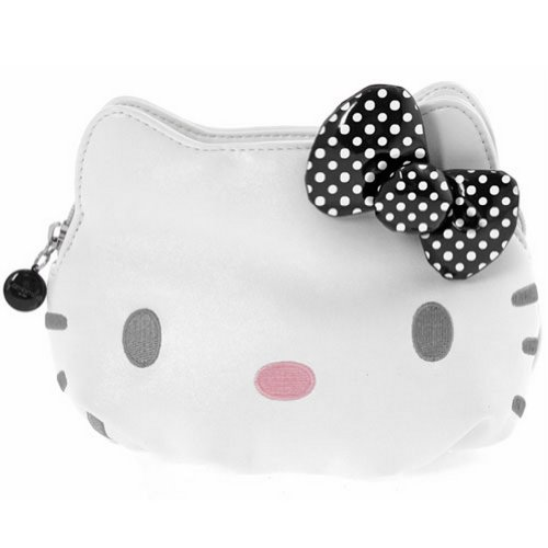 Trousse Cosmétique Hello Kitty by Camomilla noeud noir