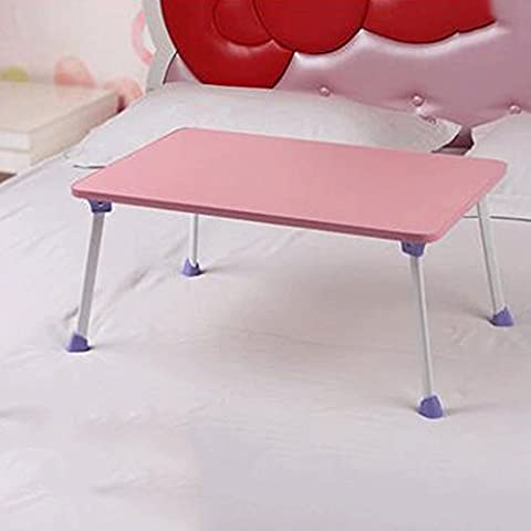 GAOLILI Einfache Computer Schreibtisch Bett mit Laptop Schreibtisch Einfache moderne Faltbare Schlafsaal Lazy Schreibtisch Lernen Kleine Schreibtisch ( Farbe : D )