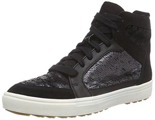 Tamaris 25202 Damen Hohe Sneakers Schwarz (Black 001)