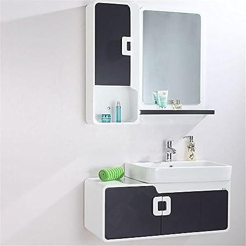 Modylee lavabo baño gabinete de madera del gabinete de cerámica de pared moderna BA-0014 , 900*350*410