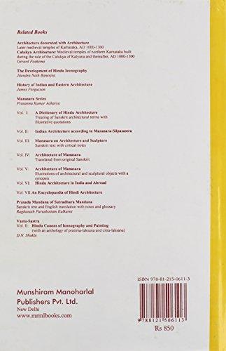 Vastu-Sastra: Hindu Science of Architecture (Manasara Series)