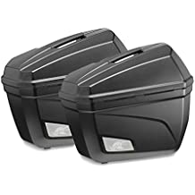 Juego de maletas laterales Yamaha XT 660 Z Tenere 08-16 Kappa Monokey K22N negro 22 litro