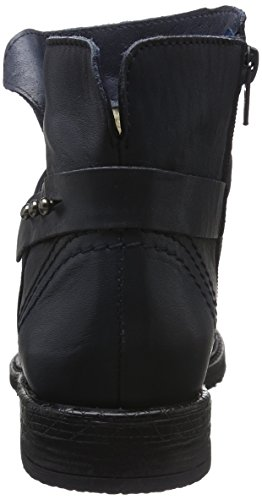 Buffalo London Damen Es 30870 Garda Kurzschaft Stiefel Blau (AZUL 66)