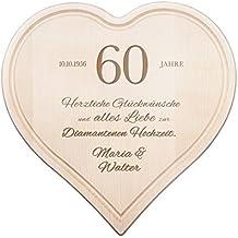 Suchergebnis Auf Amazon De Fur Diamantene Hochzeit Geschenk