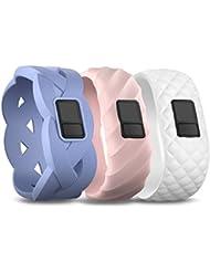 Garmin vivofit 3 Wechselarmband - Strukturarmband blau, Strukturamband rosa, Strukturarmband weiß